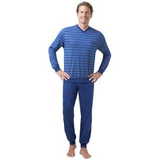 Hajo, Schlafanzug Klima-Light bügelfrei 50051